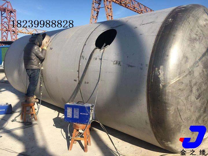 新郑污水处理厂——不锈钢储存罐
