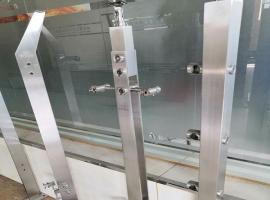 郑州不锈钢扶手立柱 玻璃栏杆立柱