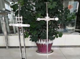 商场用不锈钢玻璃栏杆立柱